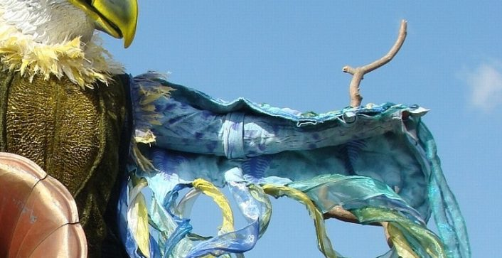 detail kostuum Carnival