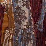 detail jurk koningin